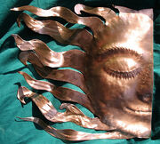 Copper Art Sculpture