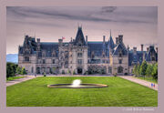 Biltmore House Classic View HDR