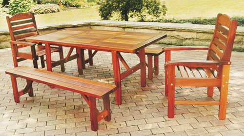 Patio furniture Home Wiki – Cedar Patio Furniture Plans