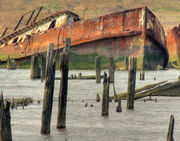 Once a ferryboat- BAYOU PLAQUEMINE