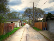 Back Alley HDR