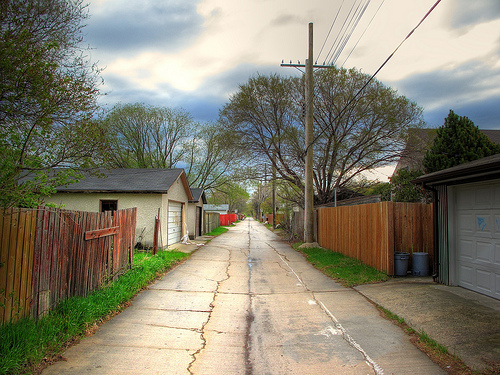 Attractive File:Back Alley HDR