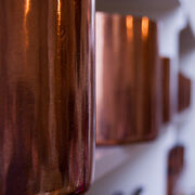 Hardwick Hall-Copper pans