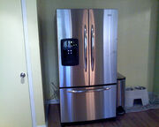 New Fridge-stainless