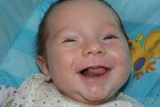 512px-Happy Baby-Uploaded by Electron