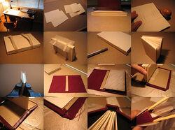 Weekend book binding