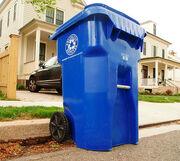 Arlington County recycle bin