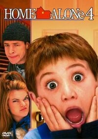 Home Alone 4 DVD cover