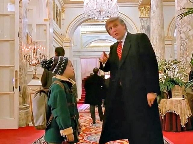 Image result for trump home alone