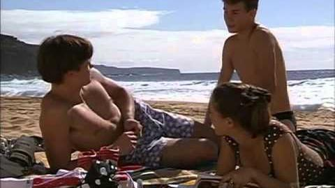 Blake & Haydn on the beach Beach