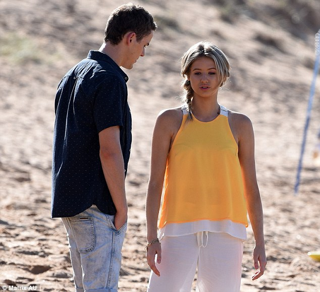Who is maddy from home and away hookup in real life