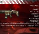 SCAR-L rifle