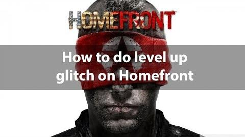 Homefront rank up faster glitch (Onlive)