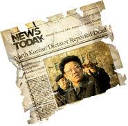 Kim Jong-il Dies