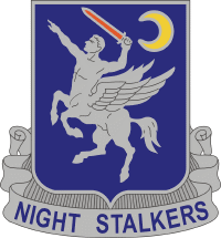 160th SOAR Distinctive Unit Insignia