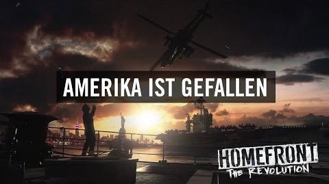 """Homefront The Revolution """"Amerika ist gefallen""""-Trailer (Offiziell) DE"""