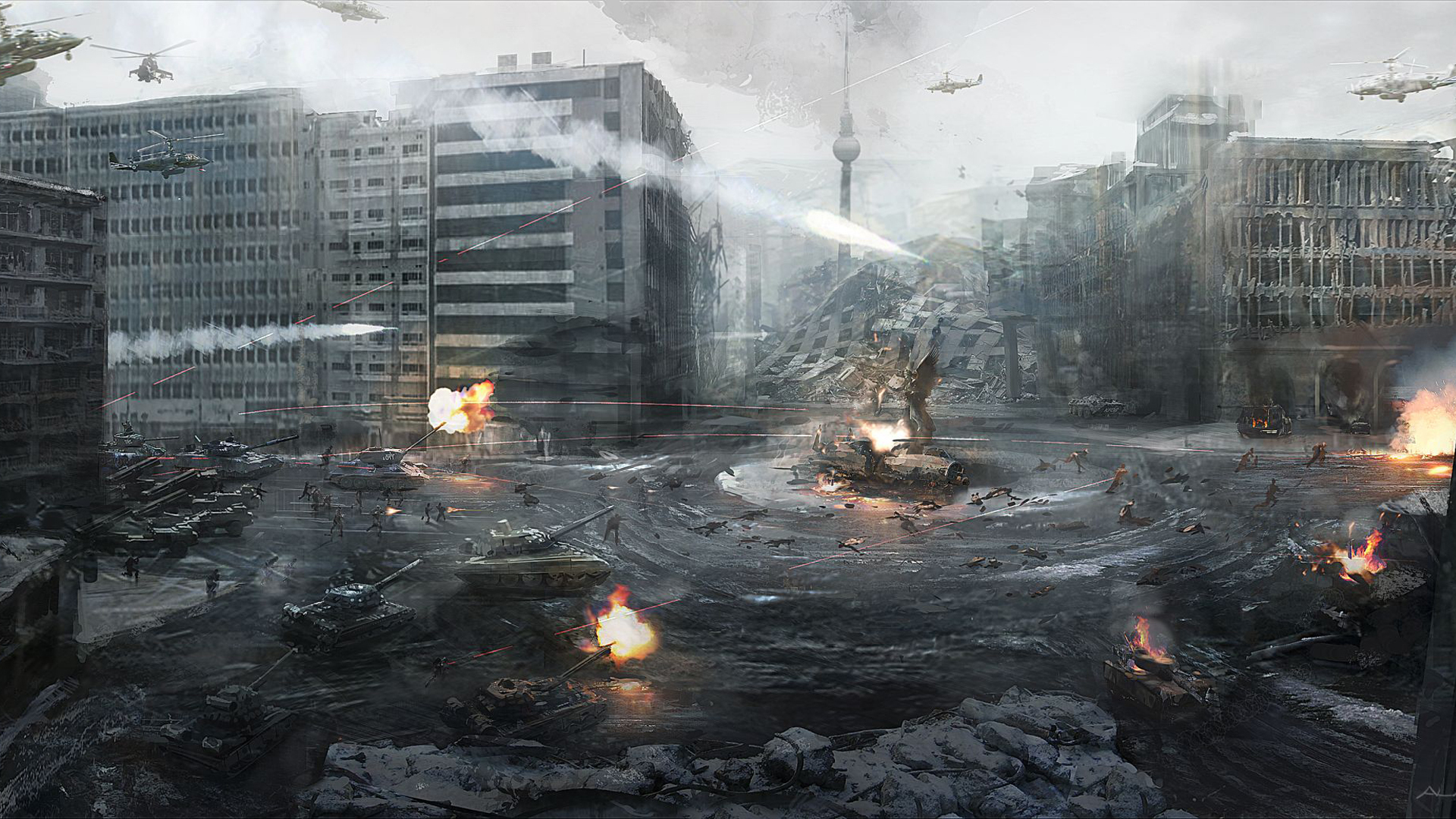 Image Call Of Duty Modern Warfare 3 City Wallpaper 1920x1080jpg