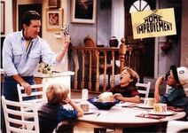 1994 Home Improvement (Skybox) Adventures in Fine Dining - A