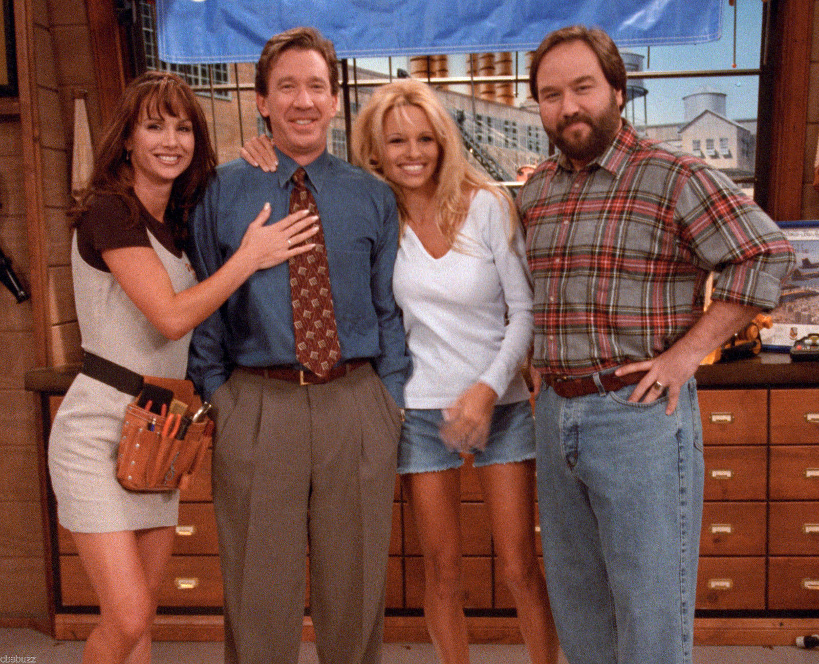 Image heidi tim lisa and al jpg home improvement for Home improvement tv wiki