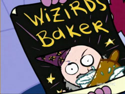 Wizards baker poster