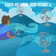 ~ Land of Fans and Music 3 ~ Generated Album Image