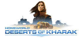 Homeworld Deserts of Kharak logo