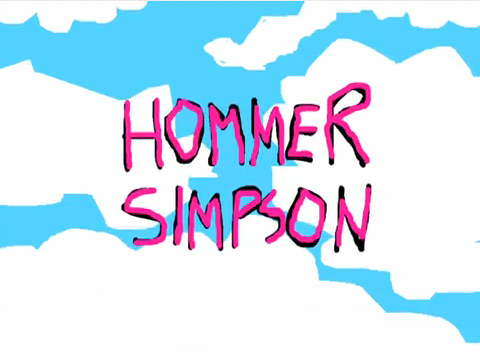 File:Hommer Simpson Title.png
