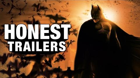 Honest Trailer - Batman Begins