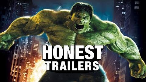 Honest Trailer - The Incredible Hulk