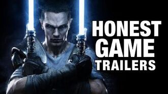 Honest Game Trailers - Star Wars- The Force Unleashed