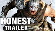 Honest game trailer skyrim