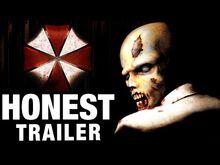 Honest game trailer resident evil
