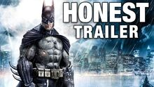 Honest game trailer batman arkham asylum