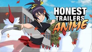 Honest trailers anime