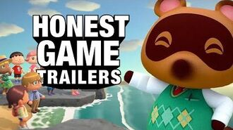Honest Game Trailers - Animal Crossing- New Horizons