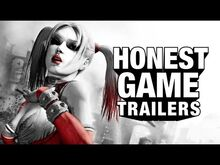 Honest game trailers batman arkham city