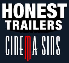 Cinemasins honest trailers logo
