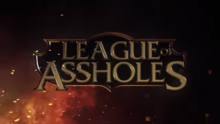LEAGUE OF LEGENDS (Honest Game Trailers) Cannot transcribe this video 3-2 screenshot