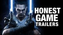 Honest game trailers star wars the force unleashed
