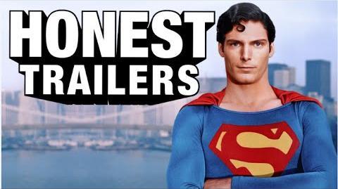 Honest Trailer Superman 1978 Honest Trailers Wikia Fandom