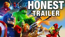 Honest game trailer lego marvel superheroes
