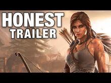 Honest game trailer tomb raider