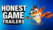 Honest game trailer crash bandicoot