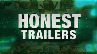 Honest trailer written by a robot