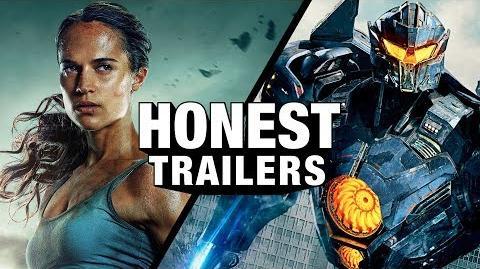 Honest Trailer - Tomb Raider/Pacific Rim: Uprising