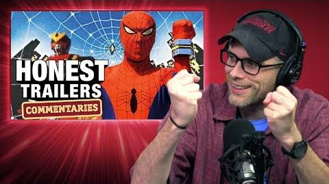 Honest Trailers Commentary - Japanese Spider-Man (Supaidāman)