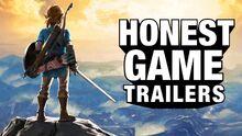 Honest game trailer zelda breath of the wild