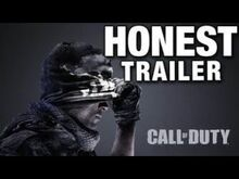 Honest game trailers call of duty modern warfare
