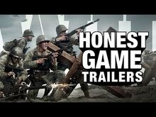 Honest game trailers call of duty ww2