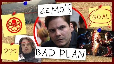 Bad Plan - Zemo in Captain America- Civil War